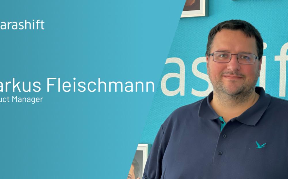 Meet our new Product Manager; Markus Fleischmann